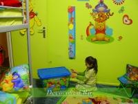 1. Детская комната с диснеевскими мультяшками