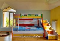 25. Двухъярусная кровать для детей