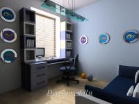 27. Комната для подростка в морском стиле