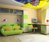 28. Современный интерьер детской комнаты